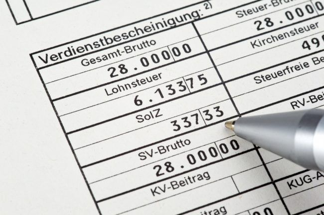 Gehaltsabrechnung: Karrierebibel hat die wichtigsten Infos für Arbeitgeber und Arbeitnehmer übersichtlich für Sie zusammengestellt.  http://karrierebibel.de/gehaltsabrechnung/