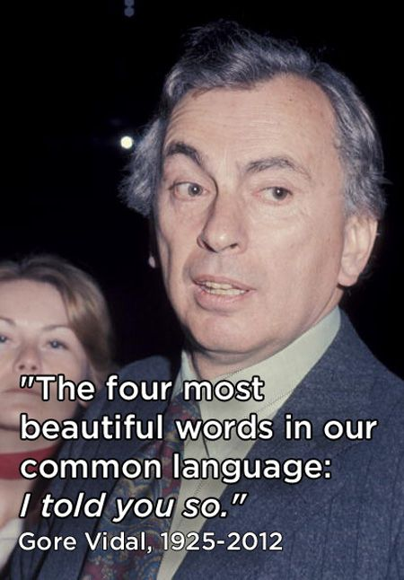 8 Great Quotes From Gore Vidal