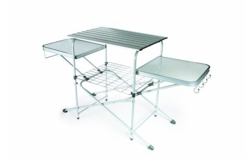 Patio Cooking Table