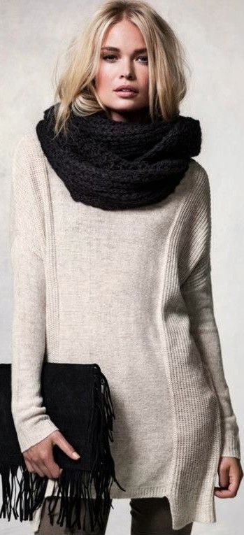 Love this oversized sweater!!