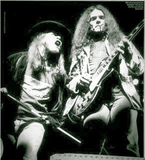 Ronnie Van Zant, Gary Rossington - Skynyrd.com #classicrock #southernrock #lynyrdskynyrd