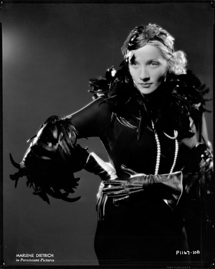Marlene Dietrich, Shanghai Express (Paramount, 1932); photo by Eugene Robert Richee