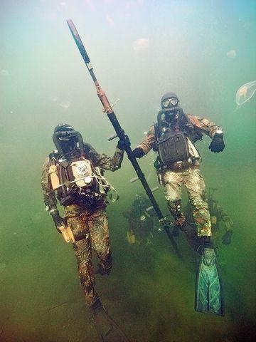 Bundesmarine Kampfschwimmer - German Navy SF Kampfschwimmer (Seals)