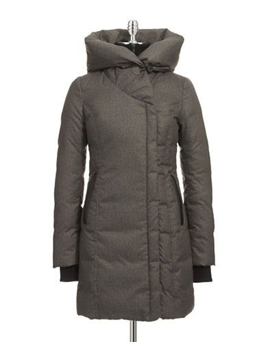 Brands | Parkas & Puffers | Shawl Collar Down Coat with