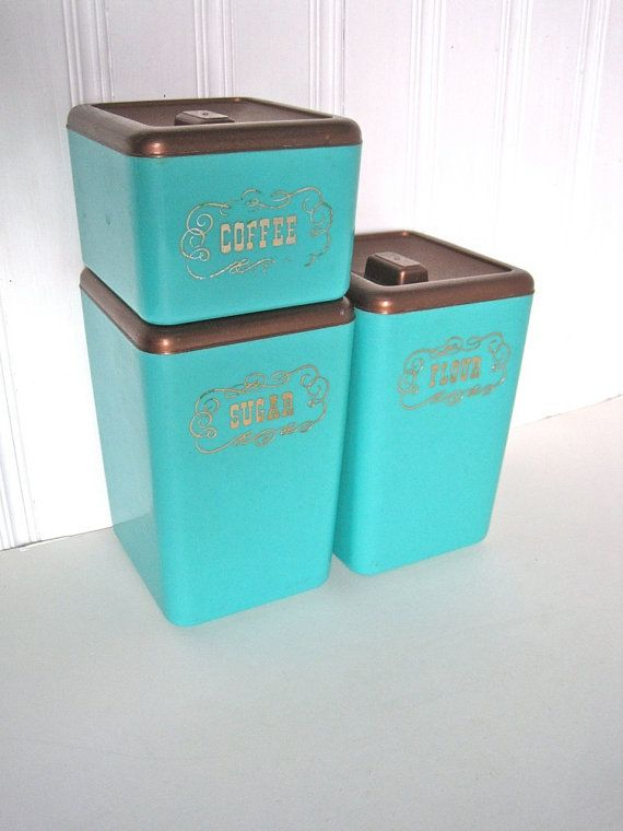 187 best Blue Canisters images on Pinterest | Canister sets ...