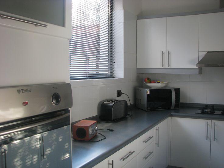 Cortinas especiales para la cocina, que permiten controlar la luz y la visibilidad