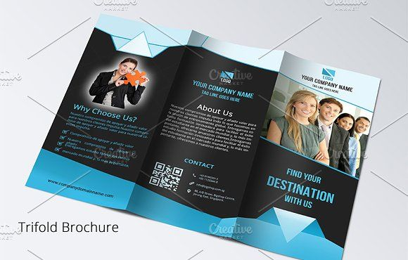 Trifold Brochure by artisanHR on @creativemarket brochure design templates 3 fold brochure template tri fold brochure design leaflet template tri fold brochure template word online brochure maker print brochures 3 fold brochure brochure template