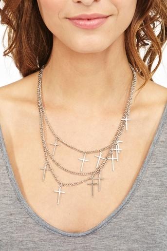 Cross To Bear Necklace: Accessories Jewelry, 18 Crosses, Crosses Necklaces, Gal Clothing, Charms Necklaces, Includ Jewelry, Accessor Jewelry, Bears Necklaces, Jewelry Fooleri