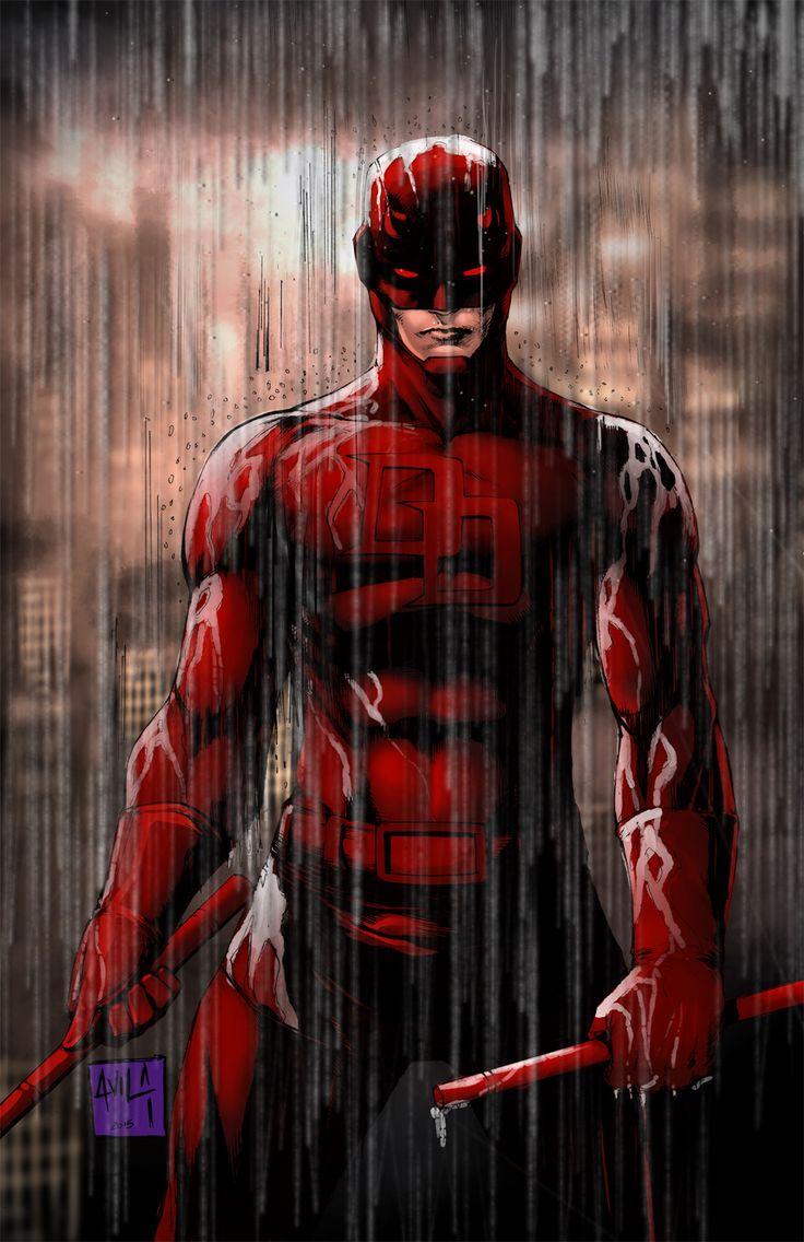 Daredevil 2015 colors by hanzozuken on DeviantArt