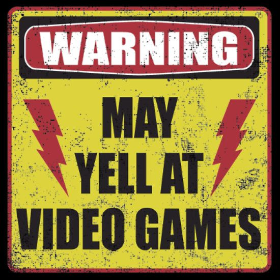 Gamer Warning!!! Hahaha I need to give this to my boyfriend!!!