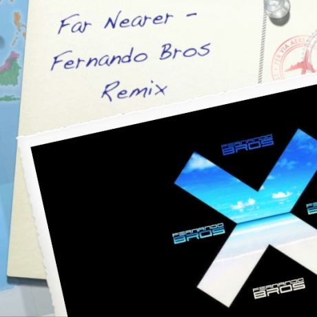 Postcard for the release for Jamie XX - Far Nearer Fernando Bros Remix
