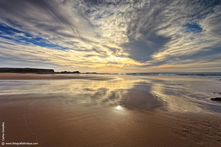 #Fuerteventura #Playa de La Mujer Tindaya.  Islas Canarias