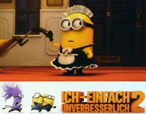 Minion ICH - EINFACH UNVERBESSERLICH 2 original Kino Aushangfotos 8 Motive