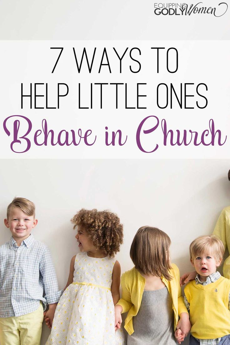 These are such great tips for helping little ones behave in church! They work…