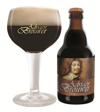 Adriaan Brouwer Dark Gold, brewery Roman Oudenaarde, Belgium 8.5%
