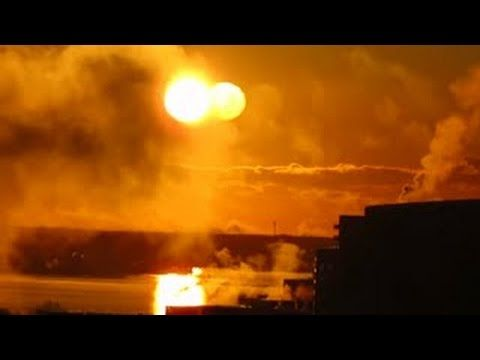Two Suns over Alaska Today -  Nibiru Planet X
