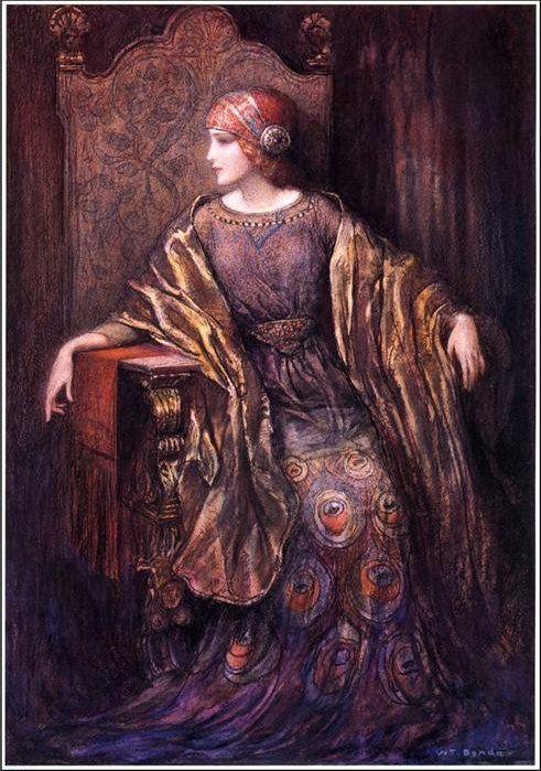 "Władysław Teodor ""W.T."" Benda (Polish-American, 1873-1948), Marion Benda"