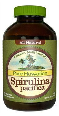 Hawaiian Spirulina 16oz Powder Nature's Multi-Vitamin