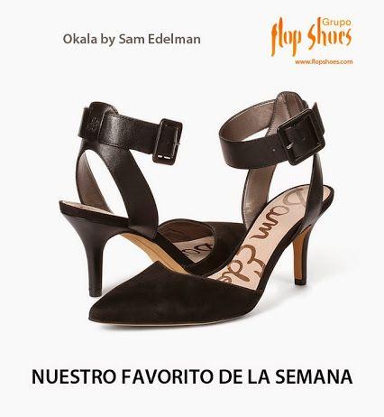 Nuestro par de zapatos favorito de esta semana llega de la mano de Sam Edelman ¿Os gustan?   http://www.flopshoes.com/tienda/glamour/okala/