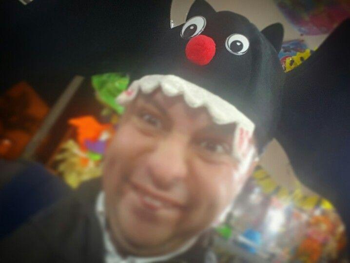 Halloween hat #hatguy #artdirector #directordearte  #halloween