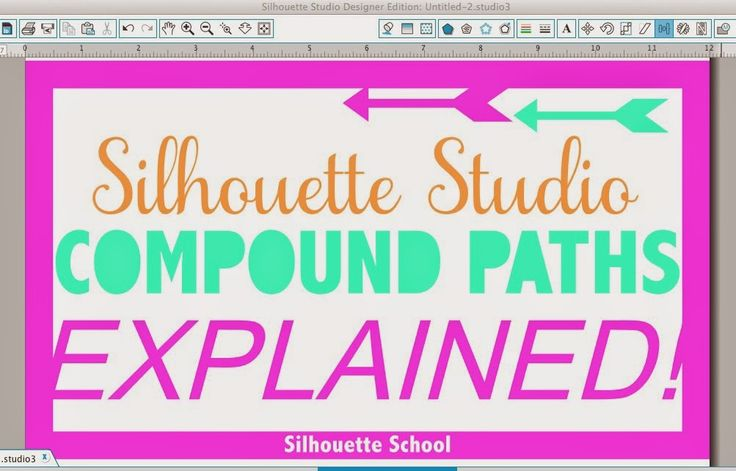 Silhouette Studio Compound Paths: Explained!