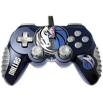 Dallas Mavericks NBA Controller Gamepad Pro PS2 Playstation 2 By MadCatz