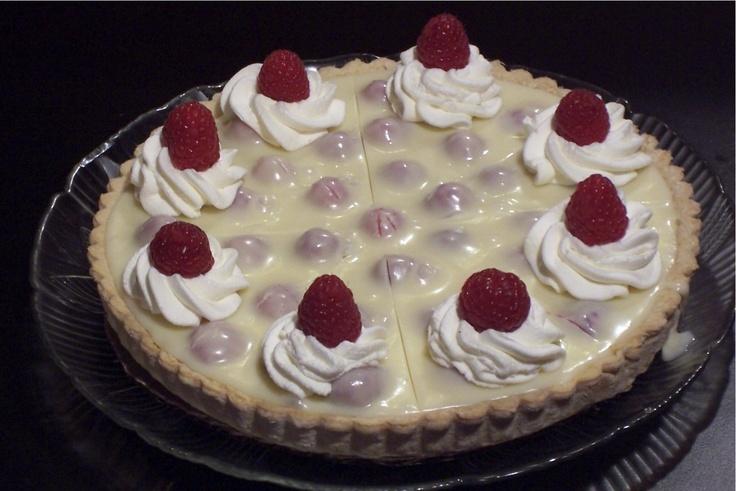 White Chocolate Raspberry Tart   Food & Drinks   Pinterest