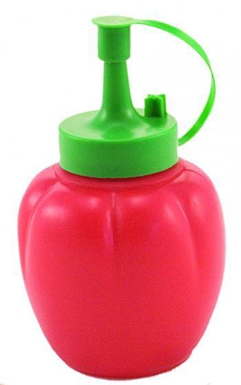 Butelka, dozownik na ketchup lub sos w kształcie pomidora - Chef Aid