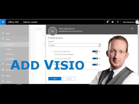 *Add Visio to Office 365* Peter Kalmström explains how to add Visio to an Office 365 tenant: http://www.kalmstrom.com/Tips/Office-365-Course/Add-Visio.htm