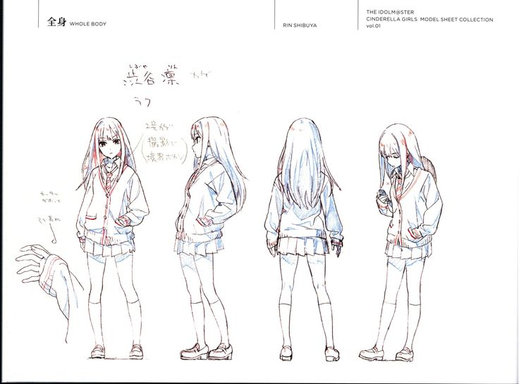 character_design settei the_idolm@ster the_idolm@ster_cinderella_girls yuusuke_matsuo