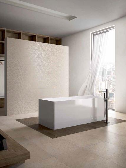 Tile Composition By Edilcuoghi   #bathroom #gres #porcelain #tile #design  #. Italienischer StilZeitgenössische BadezimmerFliesen DesignAufsatzZen