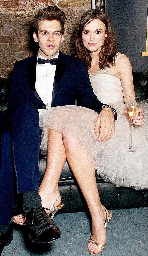 Keira Knightley Year: 2013 Dress: Karl Lagerfeld for Chanel Spouse: James Righton #jayfederjewelers