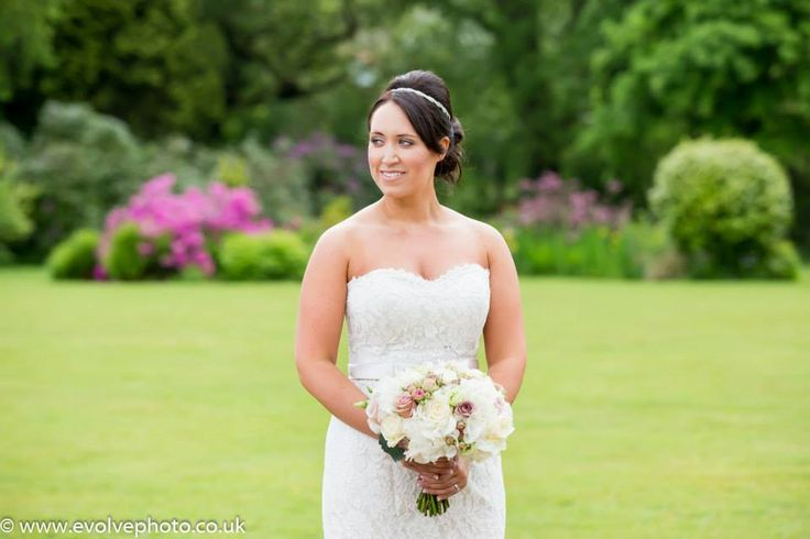 Summer bride at Moorland Garden