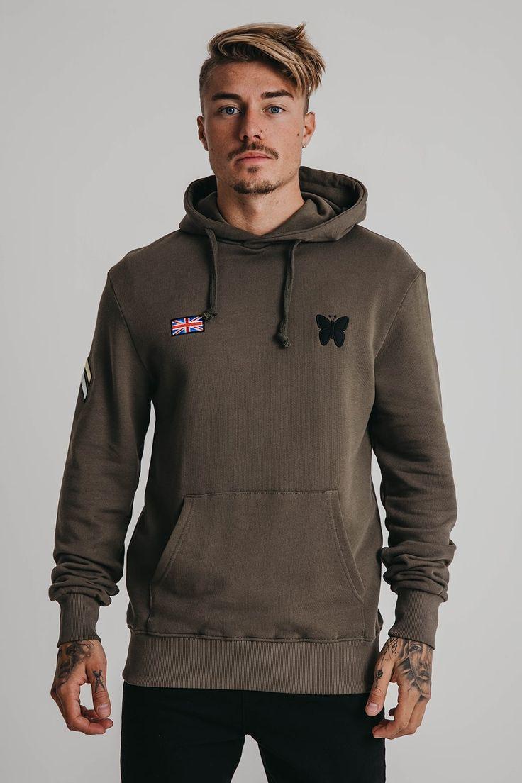 Military Khaki Hood