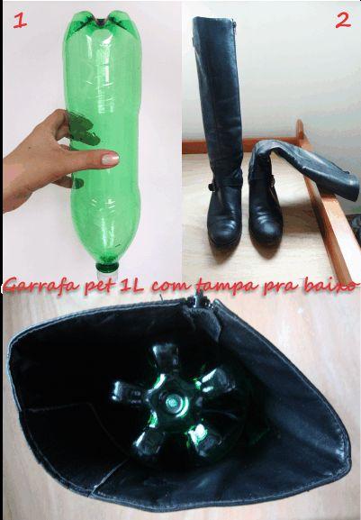 o modo certo de guardar botas