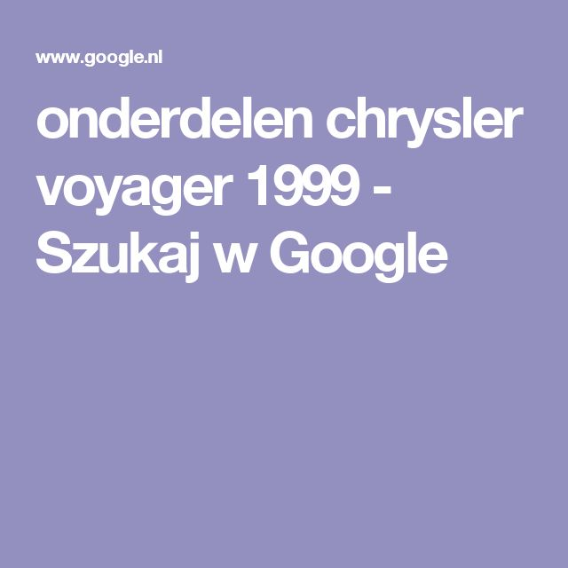 25+ Best Ideas About Chrysler Voyager On Pinterest