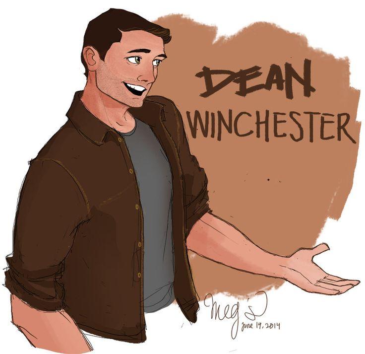 Dean Winchester by megsplash.deviantart.com on @deviantART