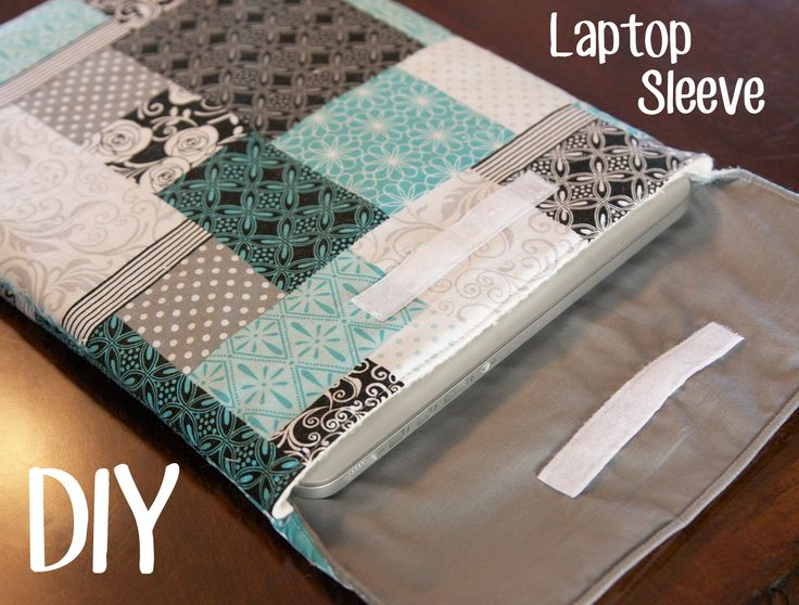 DIY laptop sleeve, Hahaha you even have this material!