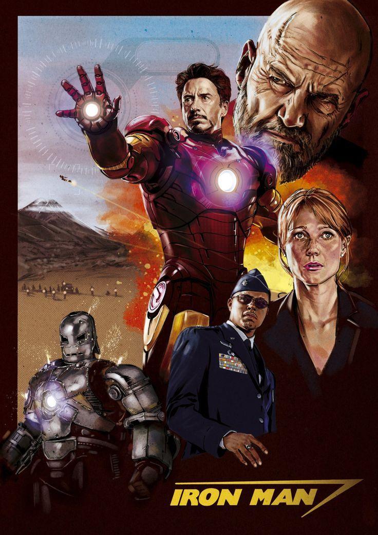 Постеры железный человек