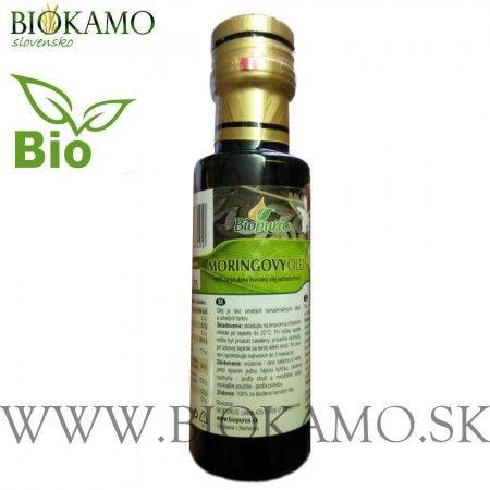 Moringový olej 100 ml BIO Biopurus