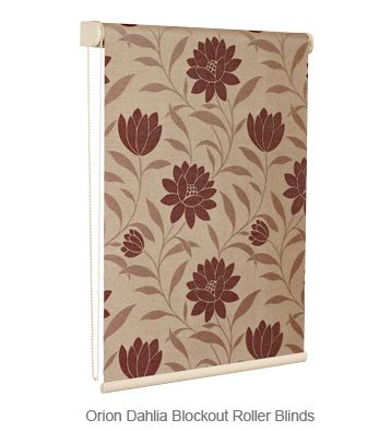 Roller Blinds Blockout - Orion Dahlia #roller #blinds