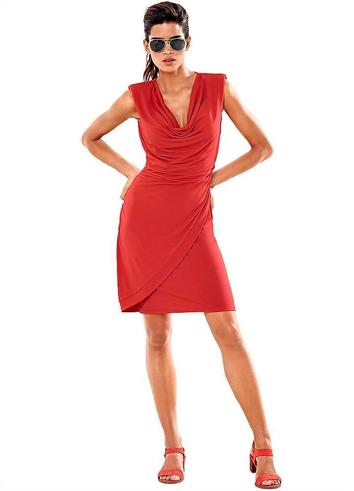 Heine Wrap Effect Dress #shiptoshore