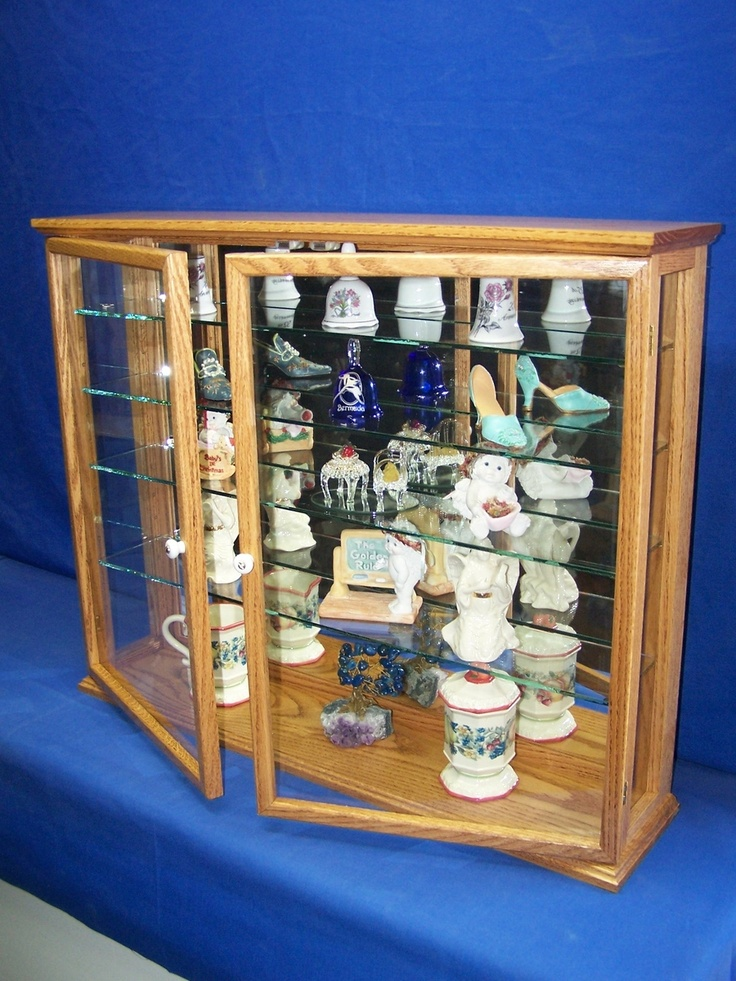 Wall Mount Curio Cabinet Custom Made