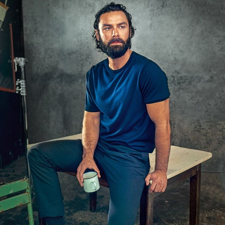 Aidan Turner & The Poldark Men GLAMOUR Interview & Pictures (Glamour.com UK)