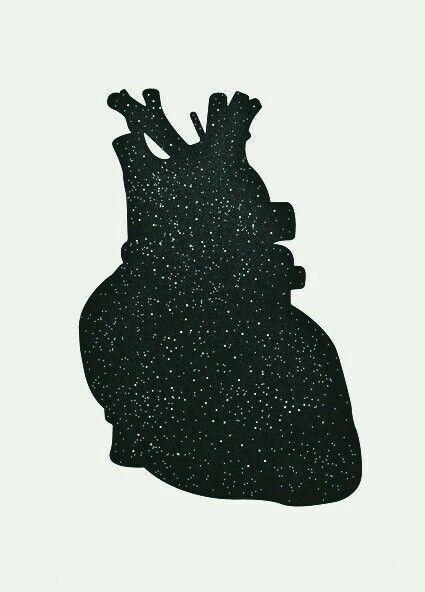 stars in my love. heart art