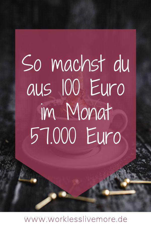 100 Euro im Monat anlegen – aber wie