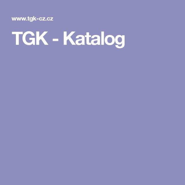 TGK - Katalog
