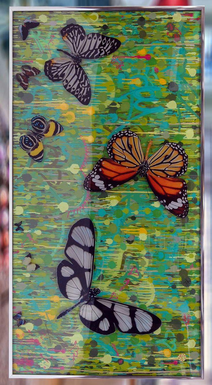 Dominic Vonbern Butterflies Art for sale