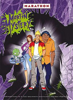 martin mystery | my second favorite show as a kid