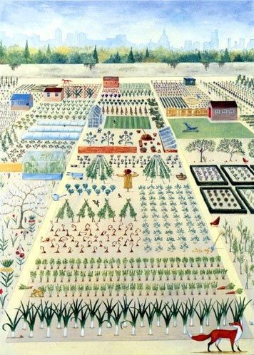 'The Allotments' by Rebecca Campbell (B191)